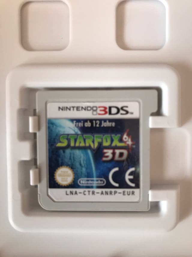 JUEGO STARFOX3D Nintendo 3DS