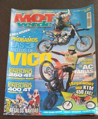 REVISTA MOTO VERDE. Nº 294 AÑO 2003. VER SUMARIO.