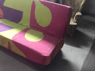 Sofá cama de clic clac