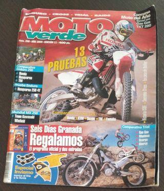REVISTA MOTO VERDE 268 AÑO 2000. COMP. ENDURO 250