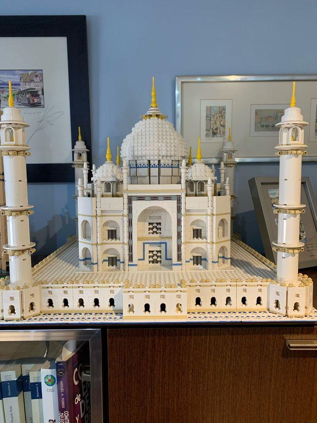 Lego Taj Mahal 10189-1
