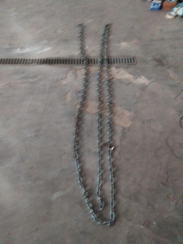 cadena zincada