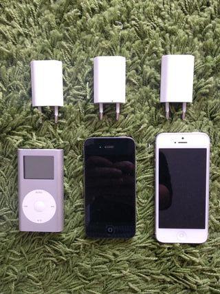 iPhone (4S, 5) + iPod Mini