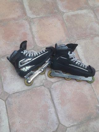 Patines Mission Axiom portero Hockey Linea