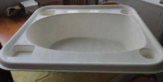 Bañera de bebé, adaptable a bañera de adultos