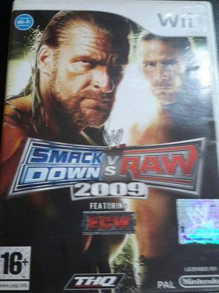 WII SMACK DOW VS RAW