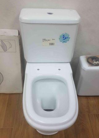 Taza y cisterna de inodoro Roca Dama