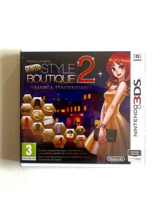 New Style Boutique 2: Marca Tendencias 3DS