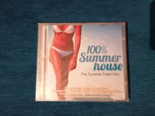 100% SUMMER HOUSE CD RECOPILATORIO PRECINTADO