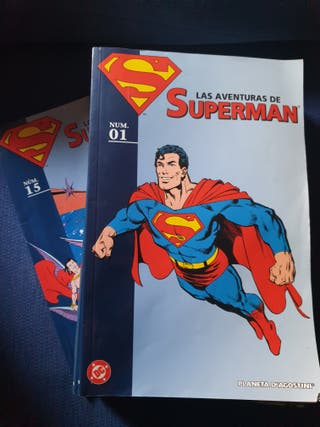 colección 15 comics superman