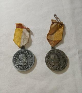 Medallas 35 CONGRESS EUCHARISTIC INT. 1952