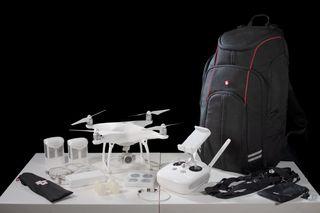 DJI Phantom 4 Drone + Filtros ND Neewer + Mochila