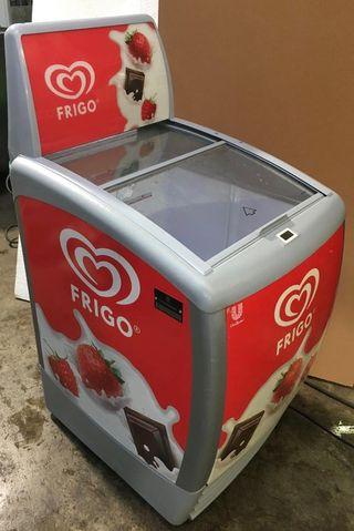 Congelador arcon para helados
