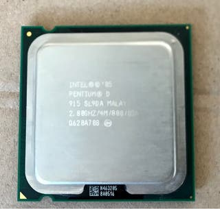 CPU Intel Dual Core