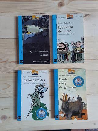 Pack de 4 Libros Barco de Vapor