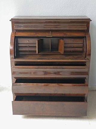 Bureau escritorio de caoba