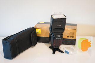 Flash Nikon SB-900 en excelente estado