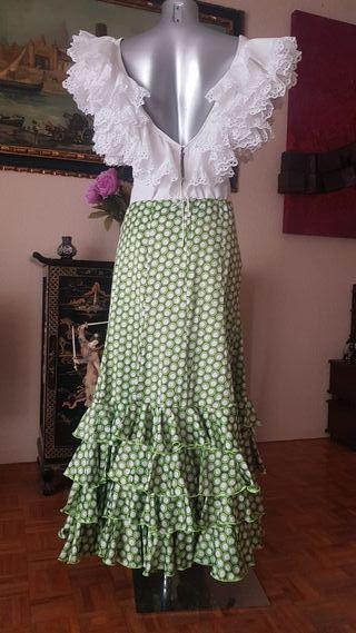 falda de flamenca ,gitana