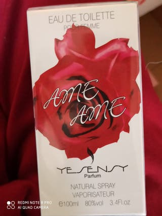 Perfume amor amor numero 1