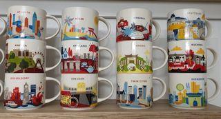 Tazas Starbucks city mug you are here yah mug