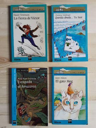 Pack de 4 Libros de El Barco de Vapor