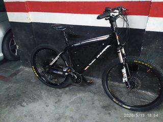 Bicicleta eléctrica 1500 w.