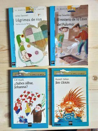 Pack de 4 Libros El Barco de Vapor