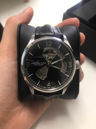 Reloj Hamilton Automatico Jazzmaster Open Heart