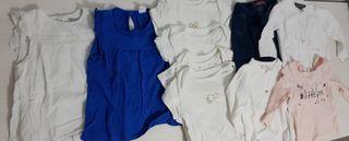 lote de ropa talla 74cm de 6 a 9 meses