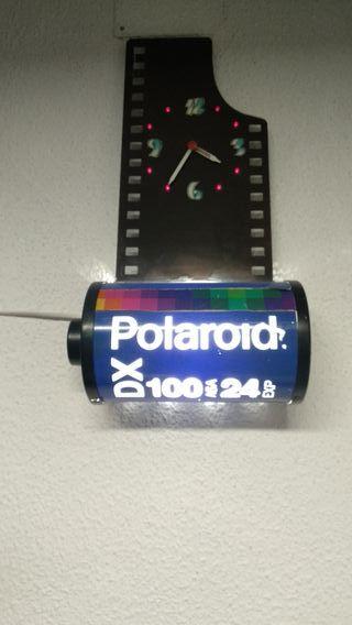 luminoso película polaroid antiguo. Decorativo.