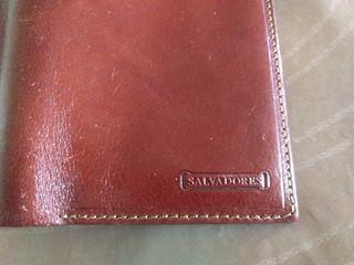 Cartera billetera piel marrón Salvadores