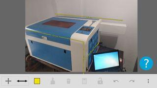 máquina de grabado y corte a láser 60w