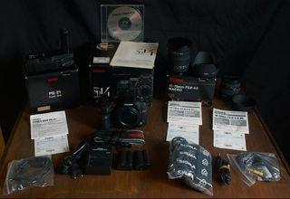 Equipo fotográfico de colección Sigma SD14