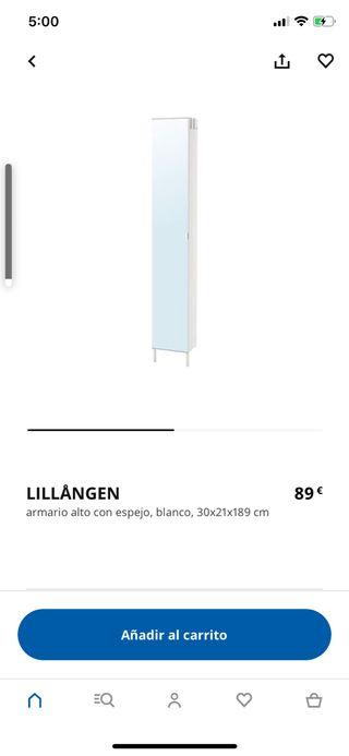Armario baño IKEA Lillangen ( con patas)