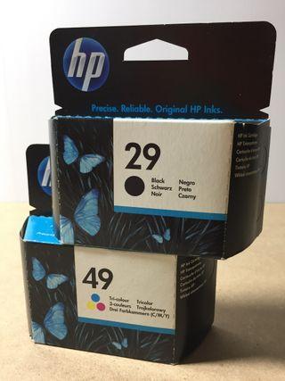 Tinta HP 29 Y 49