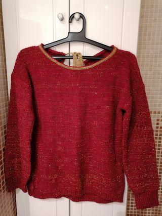 Jersey rojo calentito