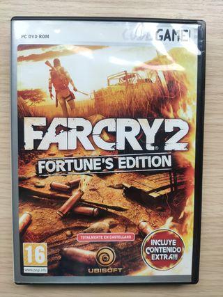 """Juego PC """" Far Cry 2 Fortune's Edition"""""""
