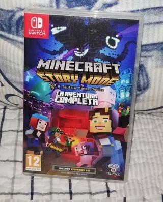 Juego Nintendo Switch - Minecraft STORY MODE