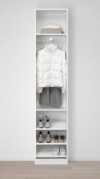 Armario modular blanco IKEA