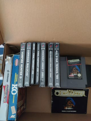 Juegos ps1 NES