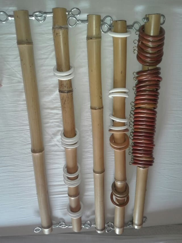 expositores de bambú para atrapasueños