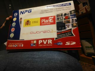 Receptor TDT+ Grabadora Digital +TV+Radio+EPG+DVBT
