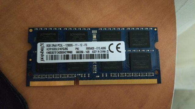 Memoria RAM DDR3 8GB SODIMM PORTATIL