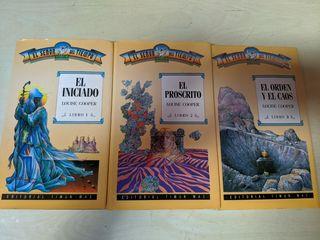 Libros Trilogía El Señor del Tiempo