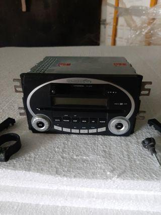 radio cd.+caset cinta kIA