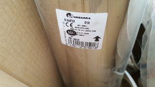tubo chimenea inox 150 50cm
