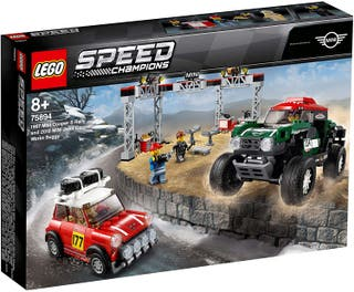 LEGO SPEED CHAMPIONS 75894 - MINI COOPER S RALLY D