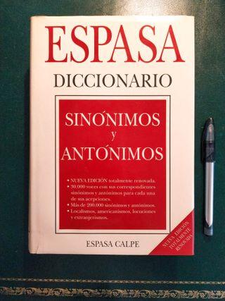 Diccionario Espasa de Sinónimos