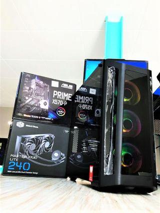 PC Gaming Ryzen 7 3800X, 16GB y RTX 2070 de 8GB