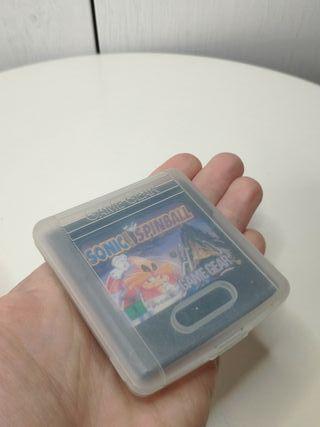 juego Sonic spinball de sega Game gear